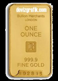 1 altın ons (gold ounce)