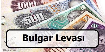bulgar levası kaç tl
