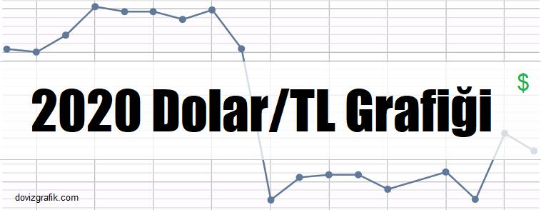 2020 yılının dolar grafiği